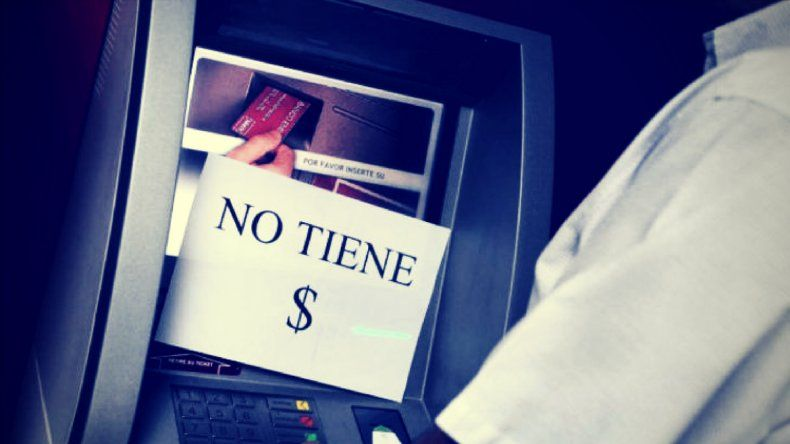 Qué hacer si no hay dinero en los cajeros automáticos