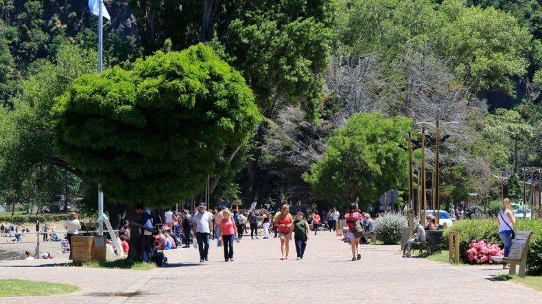Aluvión de turistas en el feriado de Carnaval