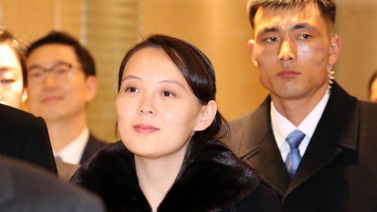 La hermana del líder norcoreano pisó suelo surcoreano en la apertura de los Juegos Olímpicos de Invierno. Nadie de su país lo había hecho desde el final de la guerra.