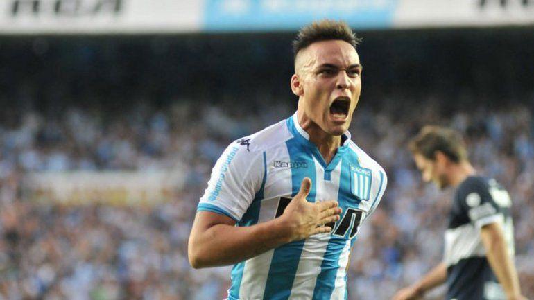 Lautaro Martínez será titular en la Academia.
