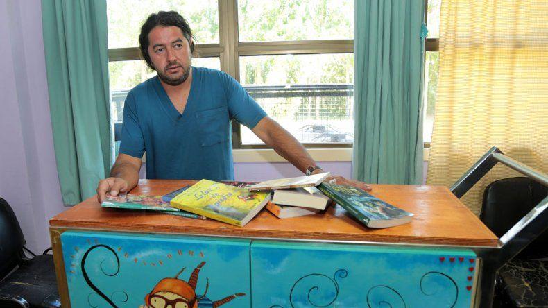 La Biblioteca Popular Jorge Fonseca donó libros de todos los géneros.