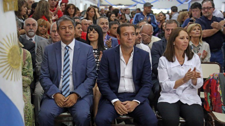 Omar Gutiérrez y Rolando Figueroa. Las diferencias entre ambos se profundizaron desde el primer momento.