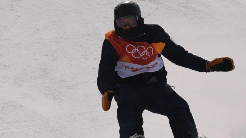 El barilochense Matías Schmitt no pasó el corte en snowboard.