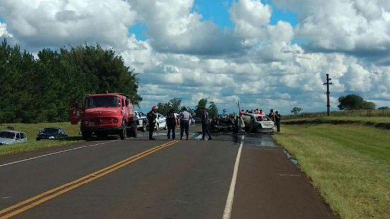 Tragedia: choque frontal dejó al menos siete muertos