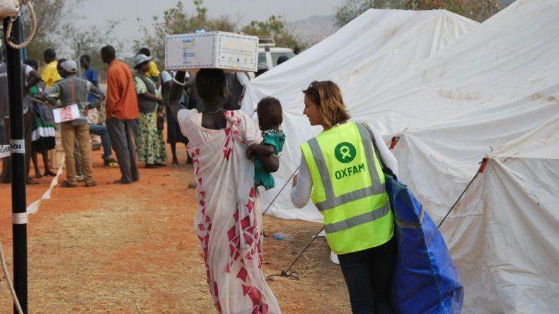 Los trabajadores de Oxfam llevaron prostitutas a una casa que alquilaban.