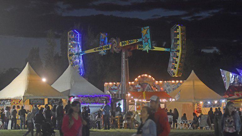 La noche estelar de la Fiesta de la Confluencia