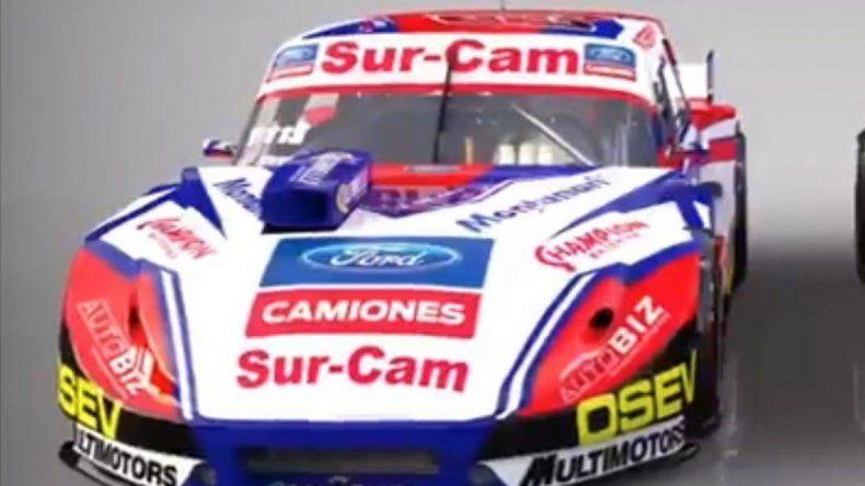 El chivo del campeón Canapino y los Ford del equipo de Guri Martínez