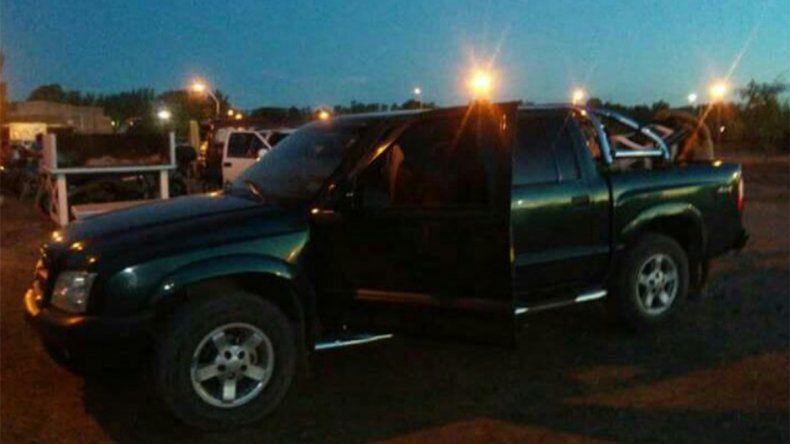 Le robaron la camioneta cuando estaba en la Fiesta de la Confluencia