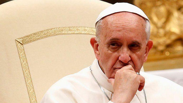 Francisco preocupado por el ataque a Siria