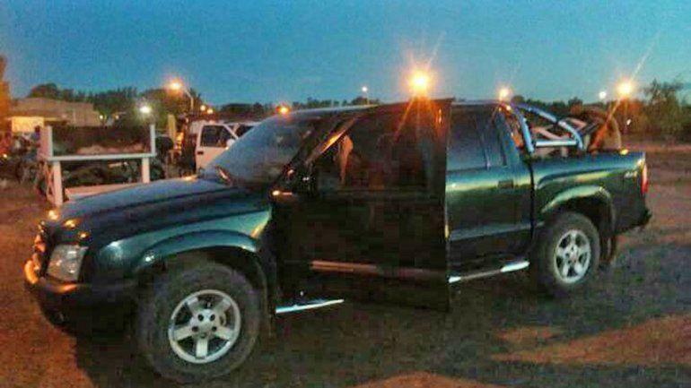 El joven dejó estacionada la camioneta S10 en calle San Antonio al 50.