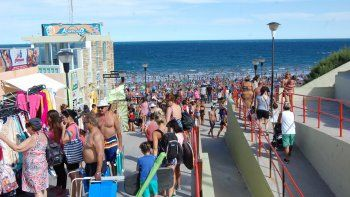 En las playas no entraba un alfiler y en la ciudad no quedó un hospedaje sin vender durante el carnaval.