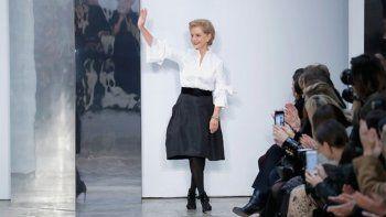 Carolina Herrera se despidió de la moda tras 37 años de éxito