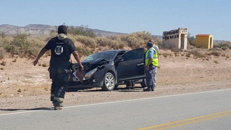 Dos accidentes en la Ruta 22 complicaron el regreso a casa luego del finde largo