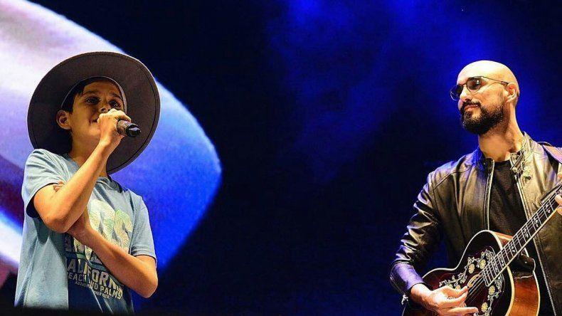 Gerónimo, tras cantar con Abel: Fue de los mejores momentos de mi vida