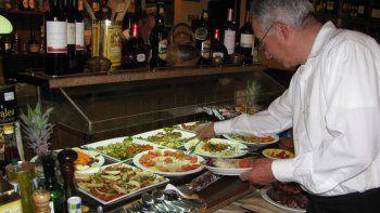 Gastronomía fue una de las actividades que creció.