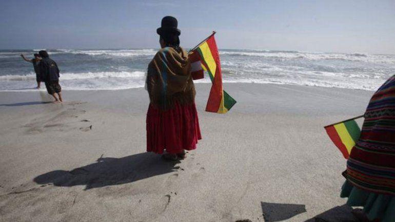Bolivia reclama 400 km de costa que perdió en la guerra del Pacífico.