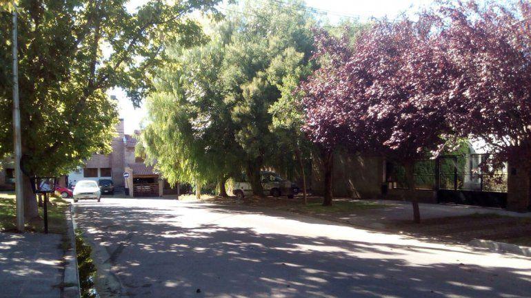 El ataque ocurrió el viernes a la noche en calle Pinar casi Miguel A. Camino en el barrio Santa Genoveva.
