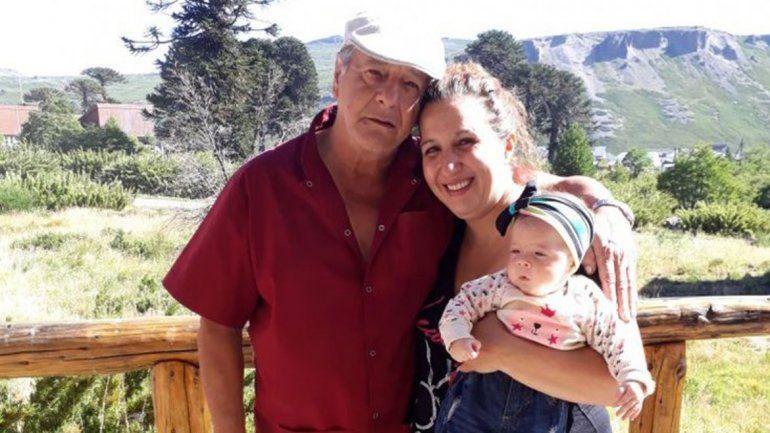 Cintia Moreno y su padre