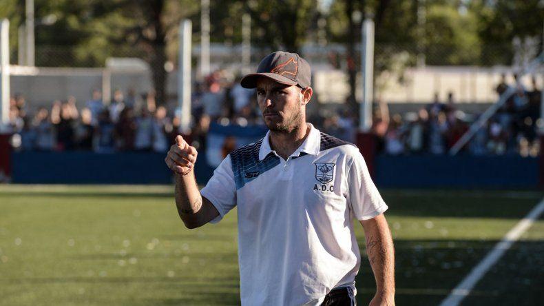 Manu Sánchez habló del andar de su equipo en el Federal C.