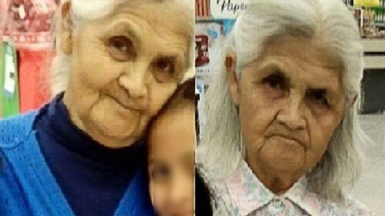 Desesperada búsqueda de una abuela de Plottier en Salta