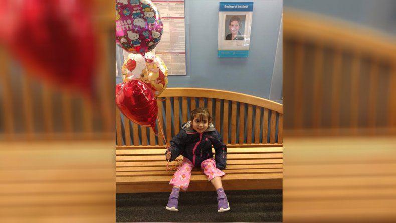¡Siguen las buenas noticias! Bianca fue dada de alta del hospital de EE.UU.