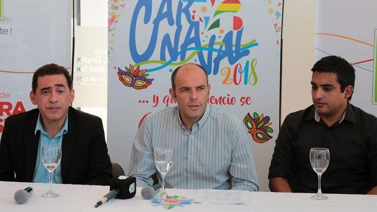 Cimolai presentó ayer el Carnaval 2018