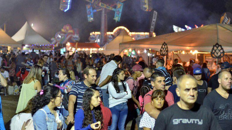 En la Fiesta de la Confluencia, el 15% eran turistas