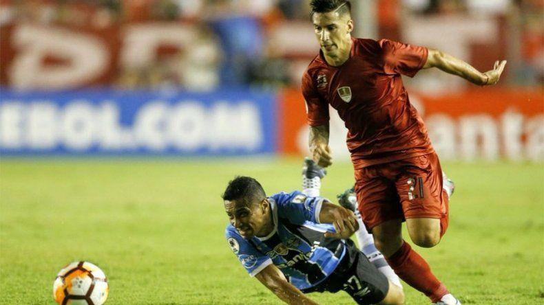 Independiente rescató un empate 1 a 1 ante Gremio