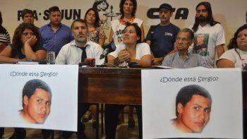 La multisectorial acompañó a Virgilio Sánchez (querellante), Mercedes y Asunción Ávalos (hermana y padre).
