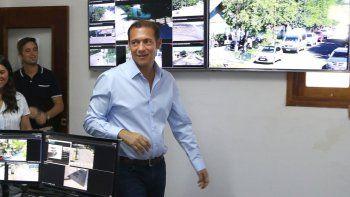 El gobernador Gutiérrez estuvo en el acto de presentación del sistema.