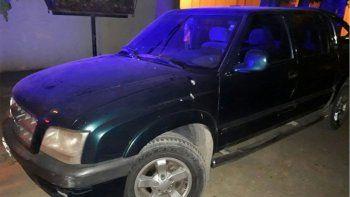 Apareció la camioneta que robaron en la Fiesta de la Confluencia