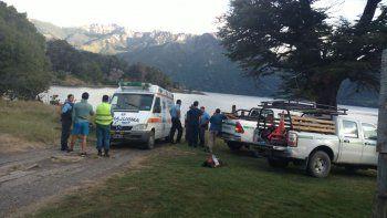 tragedia: vecino de junin de los andes murio ahogado en el lago huechulafquen