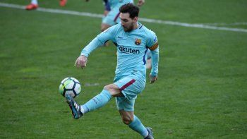 Messi jugó un gran partido. Barcelona volvió al triunfo tras dos empates.