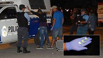 detuvieron a un hombre con cocaina en el corso de zapala