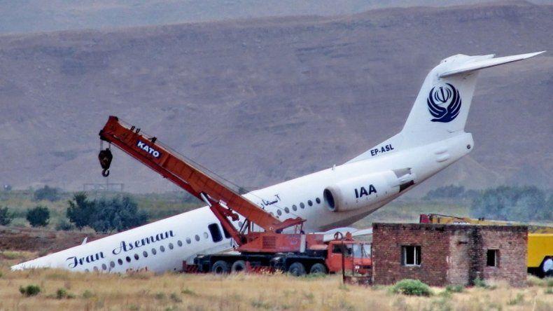 El ATR-72, que se vino abajo en la región de Semirom, hacía recorrido entre la capital Teherán y la ciudad de Yasuj.