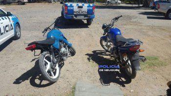 Los ladrones circulaban en una moto robada en Centenario.