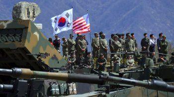 Para los norcoreanos, los ejercicios regresarán tras los Juegos.