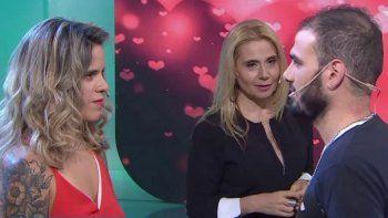 Julia acudió al ciclo para que Luciano le dé una oportunidad, pero no la tuvo.