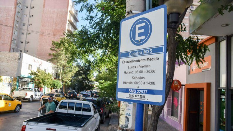 Desde hoy rige el aumento del estacionamiento medido