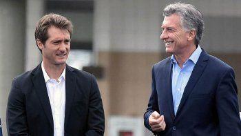 Inoportuna. La visita del DT de Boca al presidente Macri.