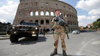 El gobierno italiano está muy preocupado por los extremistas en su país.