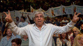 Hugo Moyano encabezará la movilización: afirma que será multitudinaria.