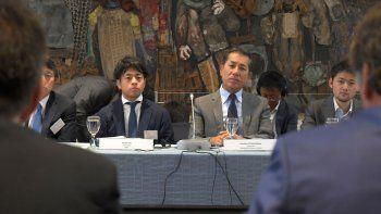 Seminario en Cancillería. El embajador japonés en Argentina conoció el potencial nacional para inversores.