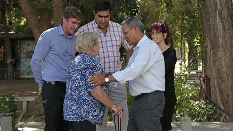 Pechi quiere plazas en los espacios públicos usurpados