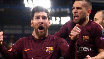 La Pulga anotó un gol clave para evitar la caída de Barcelona.