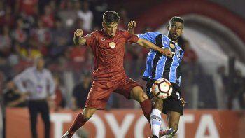 En la ida en Avellaneda fue empate 1 a 1 en un partido tan parejo como atractivo en el Libertadores de América.
