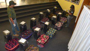 hallan 400 kilos de cocaina en valijas en embajada rusa