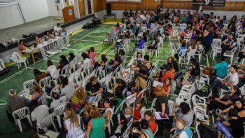 La asamblea de la seccional Capital de ATEN fue concluyente respecto de la convocatoria a un paro por 48 horas.