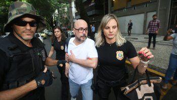 Orlando Diniz, acusado de ser parte de una gran trama de corrupción.