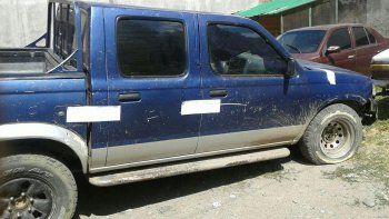 La camioneta quedó secuestrada en la Comisaría 23 de San Martín.
